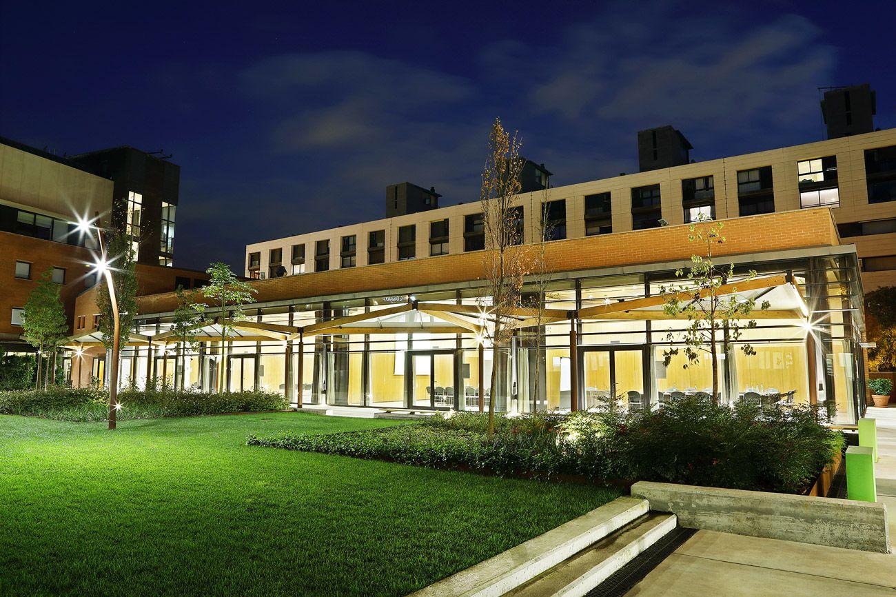 Salas exteriores para eventos y conferencias. Barcelona